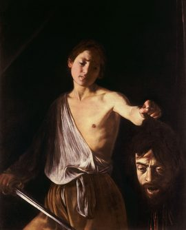 Caravaggio - The David with the Head of Goliath (1610)